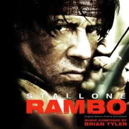 Обложка к диску с музыкой из фильма «Рэмбо IV»