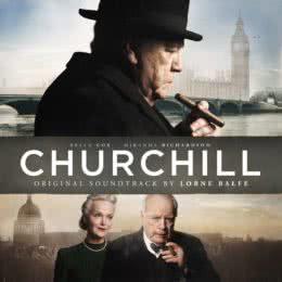 Обложка к диску с музыкой из фильма «Черчилль»