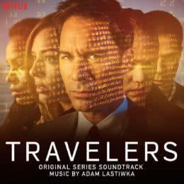 Обложка к диску с музыкой из сериала «Путешественники»