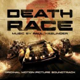 Обложка к диску с музыкой из фильма «Смертельная гонка»