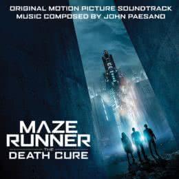 Обложка к диску с музыкой из фильма «Бегущий в лабиринте: Лекарство от смерти»