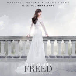 Обложка к диску с музыкой из фильма «Пятьдесят оттенков свободы»