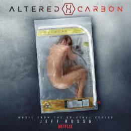 Обложка к диску с музыкой из сериала «Видоизменённый углерод (1 сезон)»