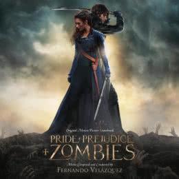 Обложка к диску с музыкой из фильма «Гордость и предубеждение и зомби»