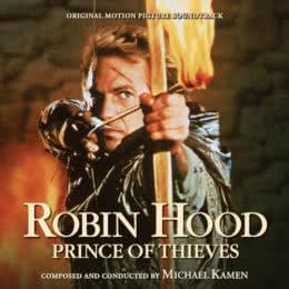 Обложка к диску с музыкой из фильма «Робин Гуд: Принц воров»