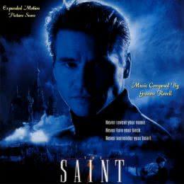 Обложка к диску с музыкой из фильма «Святой»