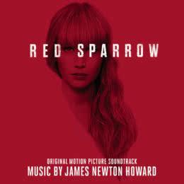 Обложка к диску с музыкой из фильма «Красный воробей»