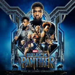 Обложка к диску с музыкой из фильма «Чёрная Пантера»