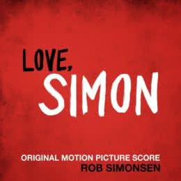 Обложка к диску с музыкой из фильма «С любовью, Саймон»