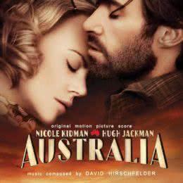 Обложка к диску с музыкой из фильма «Австралия»