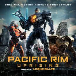 Обложка к диску с музыкой из фильма «Тихоокеанский рубеж 2»