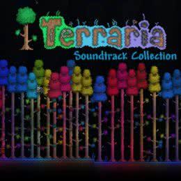 Обложка к диску с музыкой из игры «Terraria»