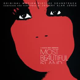 Обложка к диску с музыкой из фильма «Самый красивый остров»