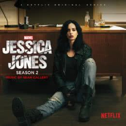 Обложка к диску с музыкой из сериала «Джессика Джонс (2 сезон)»