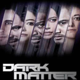 Обложка к диску с музыкой из сериала «Тёмная материя»