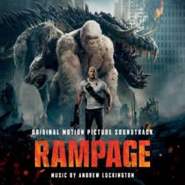 Обложка к диску с музыкой из фильма «Рэмпейдж»