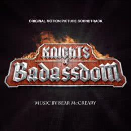 Обложка к диску с музыкой из фильма «Рыцари королевства Крутизны»