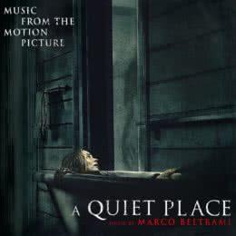 Обложка к диску с музыкой из фильма «Тихое место»