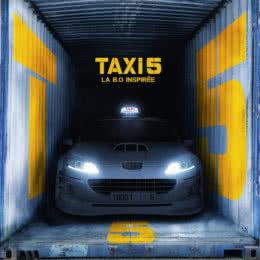 Обложка к диску с музыкой из фильма «Такси 5»