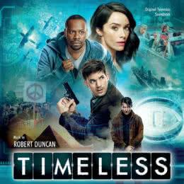 Обложка к диску с музыкой из сериала «Вне времени»