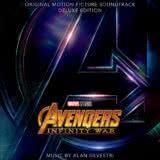 Маленькая обложка к диску с музыкой из фильма «Мстители: Война бесконечности»