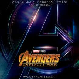 Обложка к диску с музыкой из фильма «Мстители: Война бесконечности»