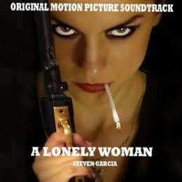 Обложка к диску с музыкой из фильма «Одинокая женщина»