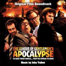 Обложка к диску с музыкой из фильма «Лига джентльменов: Апокалипсис»