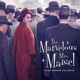 Обложка к диску с музыкой из сериала «Удивительная миссис Мейзел (1 сезон)»