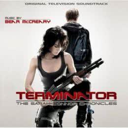 Обложка к диску с музыкой из сериала «Терминатор: Хроники Сары Коннор»