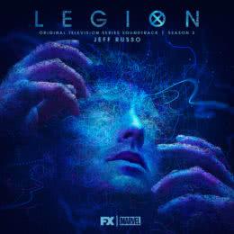Обложка к диску с музыкой из сериала «Легион (2 сезон)»