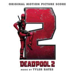 Обложка к диску с музыкой из фильма «Дэдпул 2»