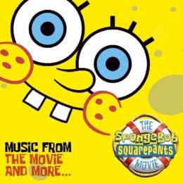 Обложка к диску с музыкой из мультфильма «Губка Боб Квадратные Штаны»
