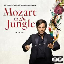 Обложка к диску с музыкой из сериала «Моцарт в джунглях (3 сезон)»