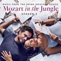 Обложка к диску с музыкой из сериала «Моцарт в джунглях (4 сезон)»