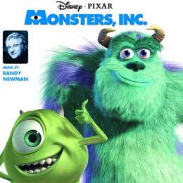 Обложка к диску с музыкой из мультфильма «Корпорация монстров»