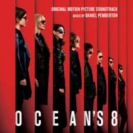 Обложка к диску с музыкой из фильма «Восемь подруг Оушена»