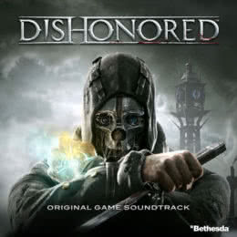 Обложка к диску с музыкой из игры «Dishonored»