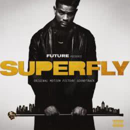 Обложка к диску с музыкой из фильма «Суперфлай»