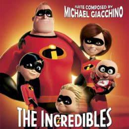 Обложка к диску с музыкой из мультфильма «Суперсемейка»