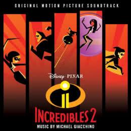 Обложка к диску с музыкой из мультфильма «Суперсемейка 2»