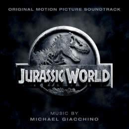 Обложка к диску с музыкой из фильма «Мир юрского периода»