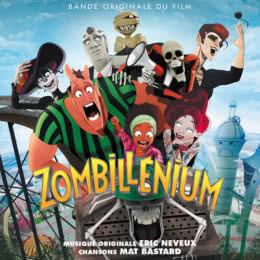 Обложка к диску с музыкой из мультфильма «Зомбилениум»