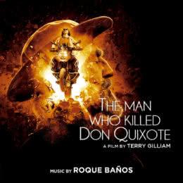 Обложка к диску с музыкой из фильма «Человек, который убил Дон Кихота»