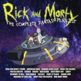 Маленькая обложка диска c музыкой из мультфильма «Rick And Morty - The Complete Fantasy Playlist»