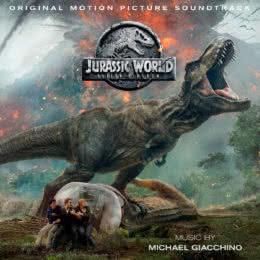 Обложка к диску с музыкой из фильма «Мир юрского периода 2»