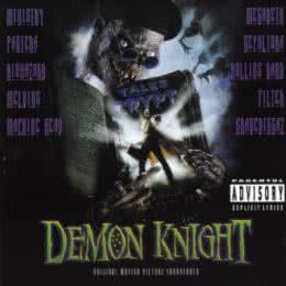 Обложка к диску с музыкой из фильма «Байки из склепа: Рыцарь демонов ночи»
