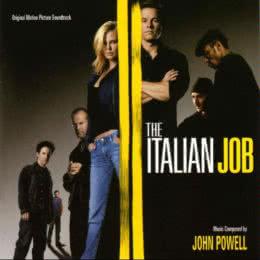 Обложка к диску с музыкой из фильма «Ограбление по-итальянски»