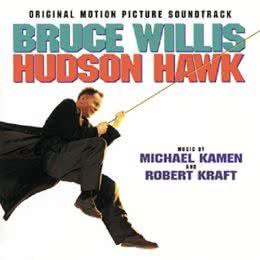 Обложка к диску с музыкой из фильма «Гудзонский ястреб»