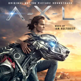 Обложка к диску с музыкой из фильма «Аксель»